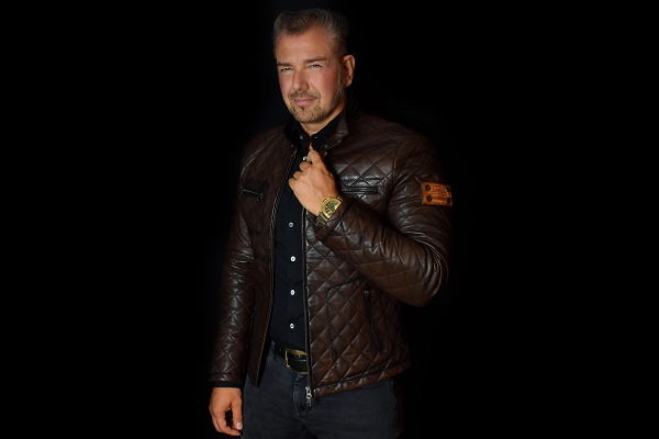 Jacket 01 - Brown - Custom Made