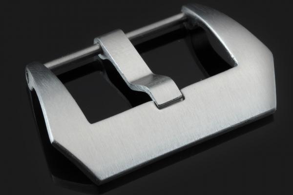 Verschraubte PRE-V Schließe Titan gebürstet