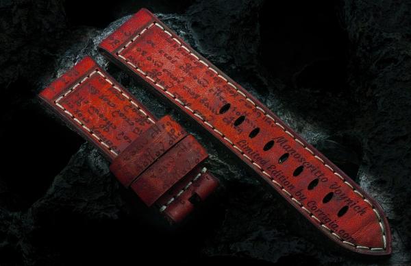 Manoscritto Voynich Custom - Red