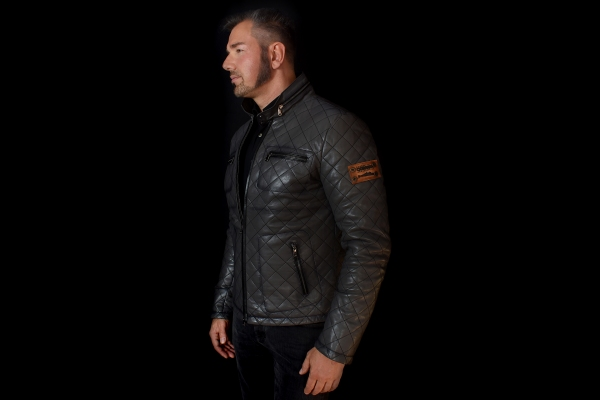 Jacket 01 - Stone Gray - Custom Made