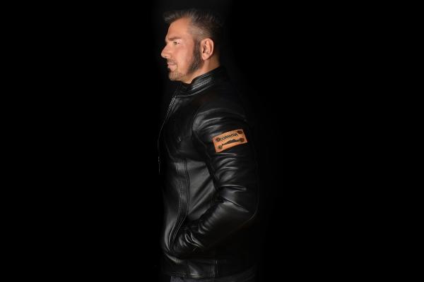 Jacket 05 - Black mit abnehmbarer Kapuze - Maßgeschneidert
