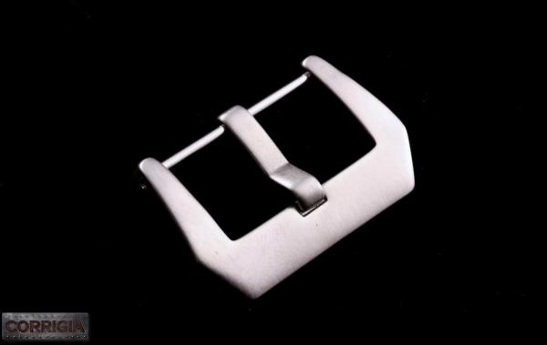 Verschraubte PRE-V Schließe gebürstet aus Edelstahl