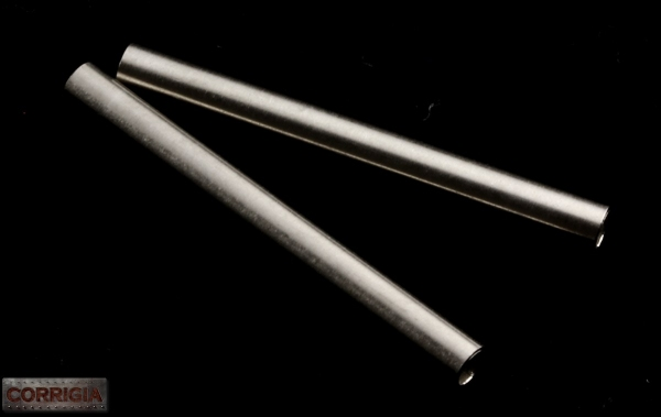 Zelman Tubes aus Edelstahl (Paar)