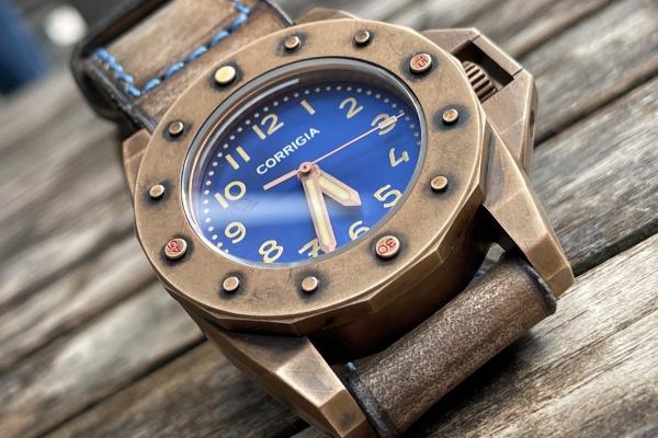 Corrigia01 Prototipo A Diver-Watch 3000m CuSn8 Bronze PRE-ORDER