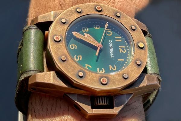 Corrigia01 Pro.A 3000m Bronze Diver-Watch PRE-ORDER