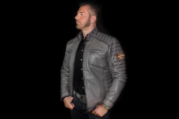 Jacket 02 - Steel Gray - Custom Made