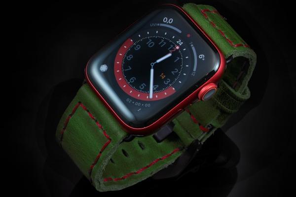 Apple-Vintage 06 Green