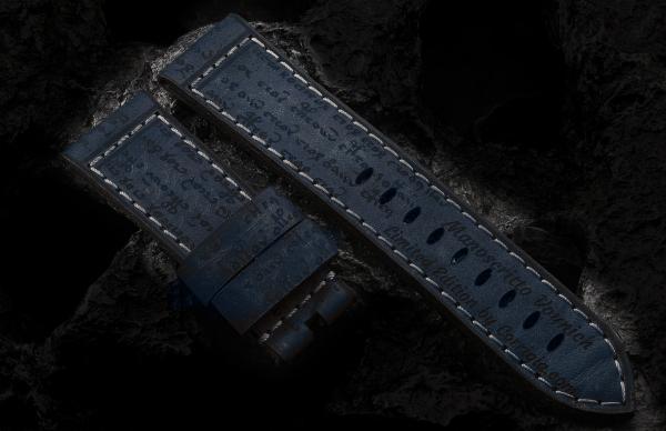 Manoscritto Voynich Custom - Night Blue