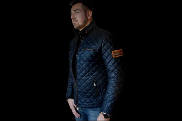 Jacket 01 - Navy Blue - Custom Made