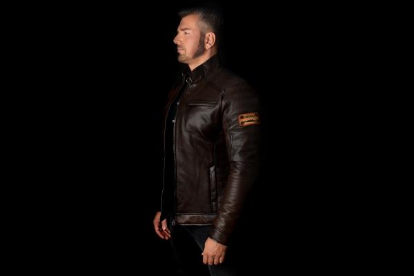 Jacket 02 - Dark Brown - Custom Made