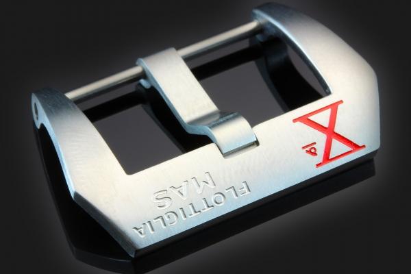 PRE-V Xª Flottiglia MAS Brushed Screw-In Stainless Steel