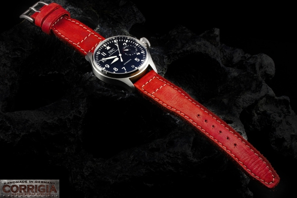 PILOT09 Red Strap